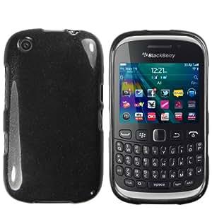 mumbi TPU Skin Case Blackberry Curve 9320 Silikon Tasche Hülle - Silicon Protector Schutzhülle schwarz
