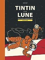 Les Aventures de Tintin - Objectif lune et On a marché sur la lune de Hergé