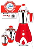 JSM-FORCE-750-Watt-3-Jar-Red-Colour-Mixer-Grinder
