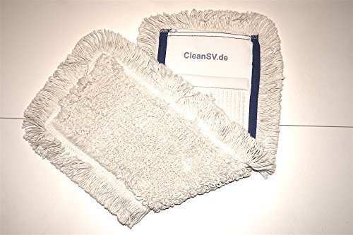 CleanSV© Profi Baumwollmop Wischmop 40 cm blau Test
