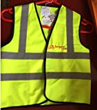 Simpson Cycles Reflective Waistcoat 4-6 year old