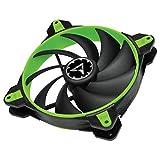 ARCTIC BioniX F140 - Ventilador 140 mm para CPU de Ordenador con PWM Sharing Technology (PST), 200 a 1800 RPM, Motor trifásico Muy silencioso - Verde