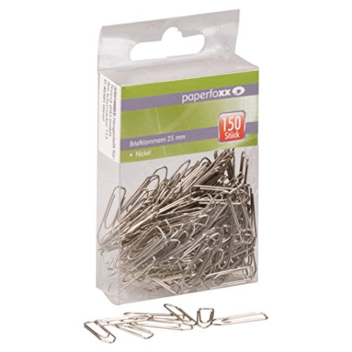 Paperfoxx Paper Clips (Pack of 150) Test
