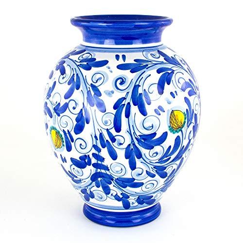 Zoom IMG-1 vaso ornamentale in ceramica di