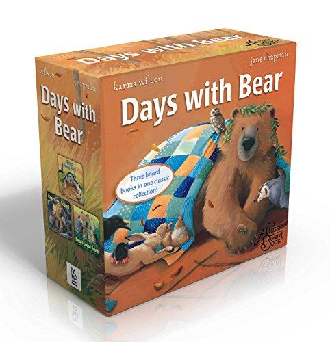 Days with Bear Set: Bear Feels Scared; Bear Feels Sick; Bear's Loose Tooth (Bear Books)