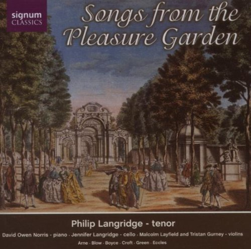 Songs from the Pleasure Garden / Philip Langridge