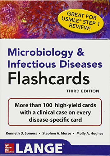 pdf download microbiology infectious diseases flashcards third