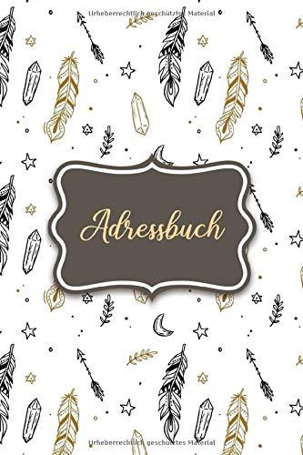Adressbuch: Telefonbuch zum Eintragen für alle Adressen, Telefonnummern, Mailadressen und Geburtstagskalender | Adressen Notizbuch und Organizer | Blumen Design
