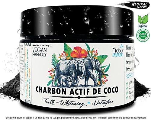 Polvo de Carbón activo de COCO 60g - Activated Charcoal de COCO Nucifera...
