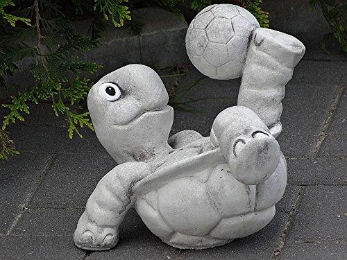 Steinfigur Nr.556 Fußball Schildkröte 11 Fussballspieler ca. 8 kg - 3