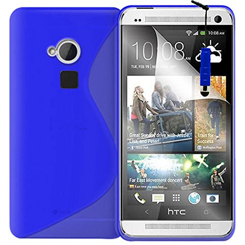 Schutzhülle weich Silikon Gel, Motiv S-Line für HTC One Max/Dual Sim - Dual Htc Sim Max One