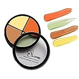 4colori cosmetici crema contorno correttore e correggere crema kit–contouring Foundation/Concealer Palette