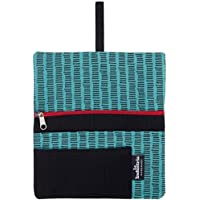 Borsello Portatabacco in stoffa con scompartimenti per accessori