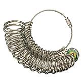 Flying Colourz–27pcs Metall Finger Ringmaß Messen Gauge Jewelry uns Größe 1bis 13