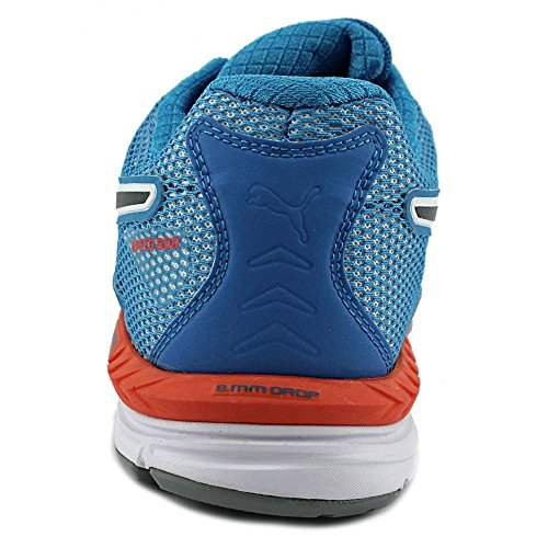 Puma Speed 600 Ignite Synthétique Baskets White-Blue-Aged Silver