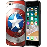 MTT Marvel Captain America Printed Mobile Back Case Cover for Apple iPhone 6S & 6