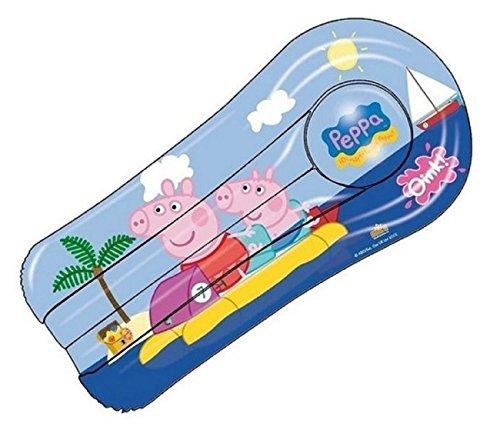 Peppa pig materassino mare gonfiabile materasso lettino mare piscina per bambini 120 x 50cm
