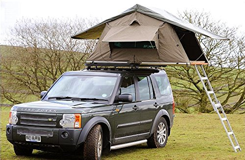 Brand New Ventura Deluxe 1 4 Car Roof Top Tent Expedition Camping Any Vehicle 4x4 Land Rover