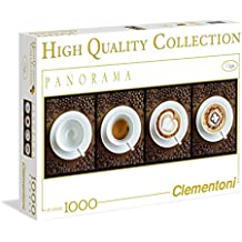 Clementoni 39275 - Caffè - Puzzle High Quality Collection Panorama 1000 pezzi