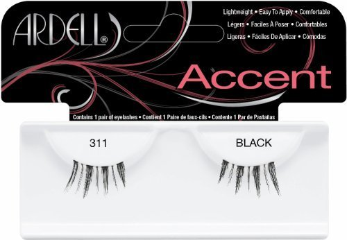 Ardell Duralash Accents False Eyelashes - #311 (Pack of 4) by Ardell