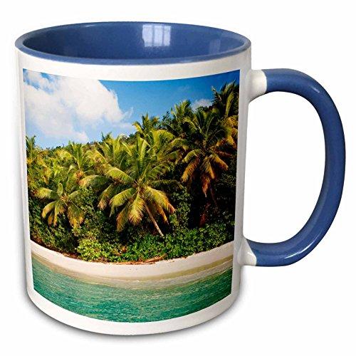 3dRose Mug_226607_6 Keramiktasse, Keramik, blau/weiß