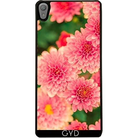 Funda para Sony Xperia E5 - Dalias Rosadas Flores Floral by Petra