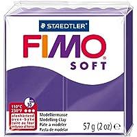 Staedtler Fimo - Pasta de modelar que se endurece en el horno, color violeta purpura