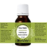 #8: WishCare Tea Tree Essential Oil 15 ML - 100% Pure, Undiluted & Natural Therapeutic Grade - For Skin, Hair and Acne Care