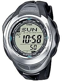 CASIO Sport-Pro - Reloj de cuarzo con correa de resina unisex (con radio controlado), color negro
