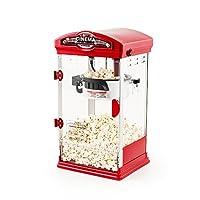Retro Cinema Popcorn Maker - 4oz Popcorn Machine for Homemade Popcorn