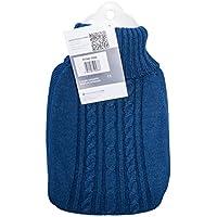 Hugo Frosch Wärmflasche Klassik 1,8 Ltr. mit Strickbezug blau preisvergleich bei billige-tabletten.eu