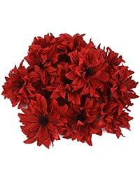 20pcs Artificiales margaritas flores cabezas casa decoración de la boda 11cm