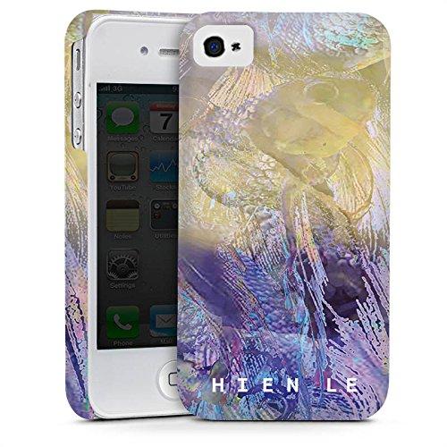 Apple iPhone 5s Housse Étui Protection Coque HIEN LE Poisson rouge Design Cas Premium mat