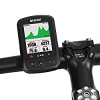 Lixada iGPSPORT Cycling Computer IGS618 ANT+ Function with Road Map Navigation Cycling Bicycle Computer Odometer with Mount