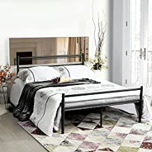 lit metal 140x190. Black Bedroom Furniture Sets. Home Design Ideas