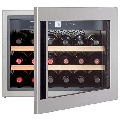 Liebherr WKEes 553 GrandCru - wine coolers (Built-in, Stainless steel, SN, right) from liebheer