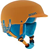 Anon Casco de snowboard, otoño/invierno, niño, color Motley Orange Eu, tamaño medium