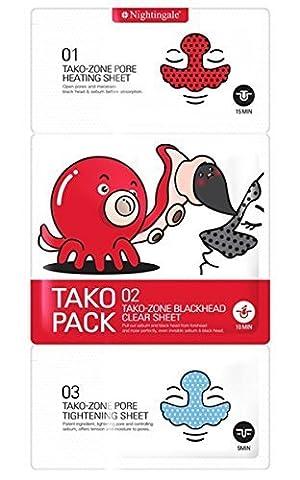 Pig Nose - Nightingale Korean Cosmetics 3 Step Tako Pack
