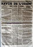 Telecharger Livres REVUE DE L OUEST No 89 du 26 07 1853 JOURNAL POLITIQUE ET D ANNONCES (PDF,EPUB,MOBI) gratuits en Francaise