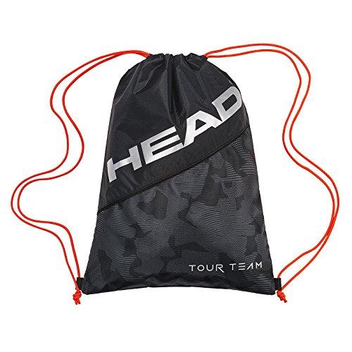 HEAD Tour Team Schuh Sack Tennisschläger, Unisex, Tour Team Shoe Sack, schwarz/Silber -