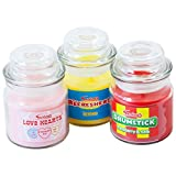 Swizzels Matlow Sweet Shop Candle Jars 3 Classic Candy Fragrances
