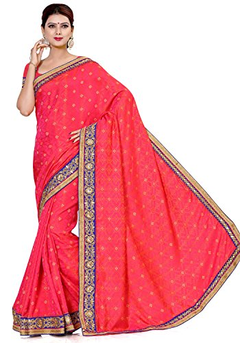 Alveera Indian Beauty Collection Latest Design Woven Jacquard Saree With Blouse -...