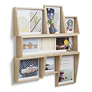 Umbra Edge Photo Display, Wood Nature, Multi (11)