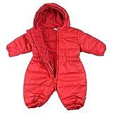 Jacky unisexo buzo de bebé, Outdoor, rojo cereza, 98 (3 años), 382487