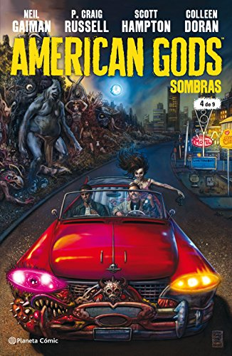 American Gods Sombras nº 04/09 por NEil Gaiman