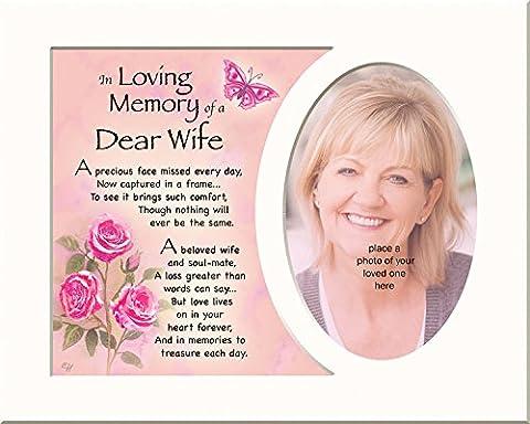 Speicher kann Gedenktafel In Loving Memory Of A Special Wife