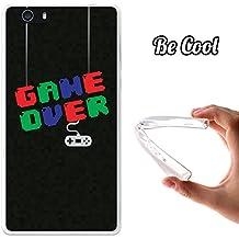 Becool® Fun - Funda Gel Flexible para Elephone M2, Carcasa TPU fabricada con la mejor Silicona, protege y se adapta a la perfección a tu Smartphone y con nuestro exclusivo diseño. Game over