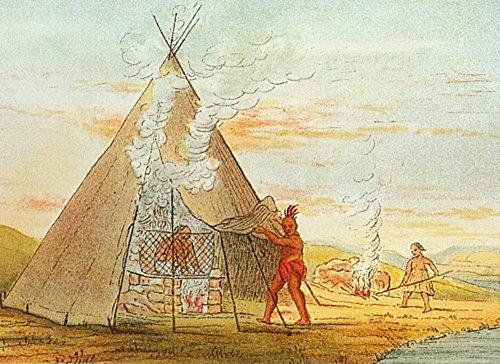 Science Source – Native American Indian Sweat Lodge Kunstdruck (60,96 x 45,72 cm)