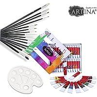 ARTINA® Set per dipingere con 24 colori
