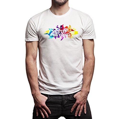 SWAG A Step Beyond Background Herren T-Shirt Weiß